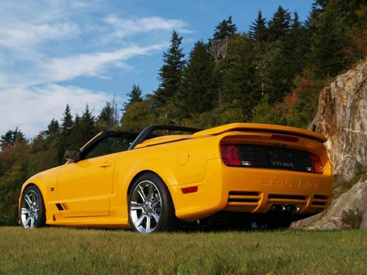 For Sale 2007 Grabber Orange Supercharged S281 Saleen Mustang 07 0014